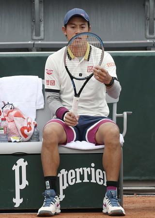 錦織、再びの試練=長引く肩の痛み―テニス