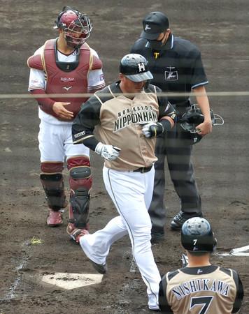 日本ハム中田、楽天の田中将に「オーラ感じた」=プロ野球