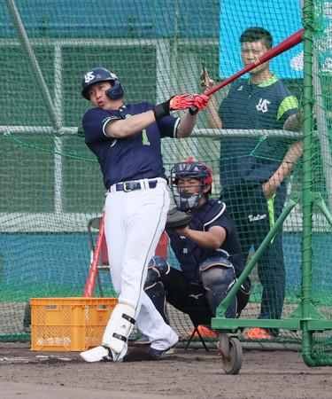 ヤクルトの山田、主将の自覚十分=チーム浮上へ導く覚悟―プロ野球・キャンプ