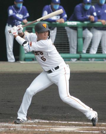 坂本、練習試合で快音=プロ野球・巨人